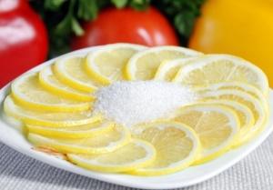 Лимон с сахаром - полезный и вкусный продукт