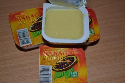 Масло плодов шоколадного дерева
