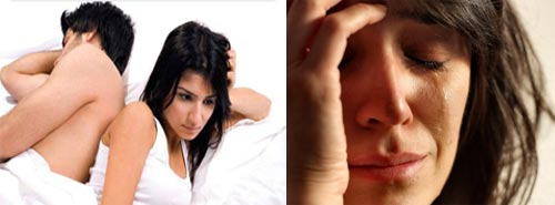 сексуальная дисфункция, смена настроения