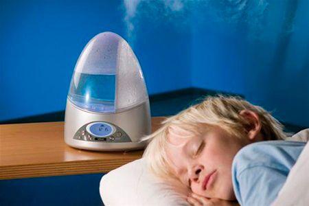 Увлажнитель воздуха для профилактики кашля у детей