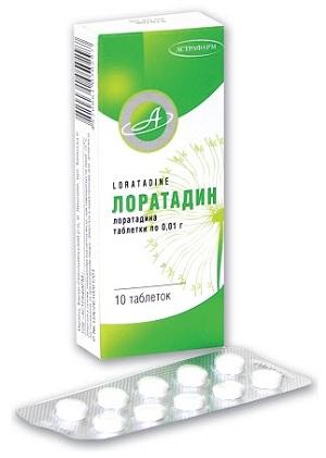 Лоратадин - антигистаминное средство, помогающее при лечении