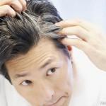 Появления седых волос у мужчин
