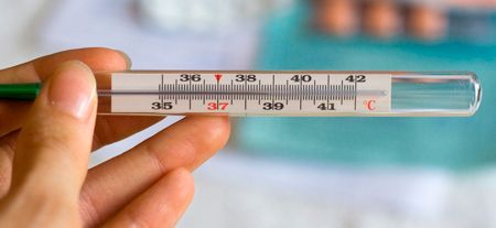 Высокая температура при бронхите