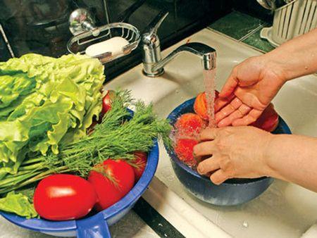Немытые овощи и фрукты как причина возникновения бронхита