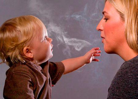 Пассивное курение как причина возникновения бронхита у детей