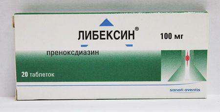 Препарат от кашля при бронхите преноксдиазин