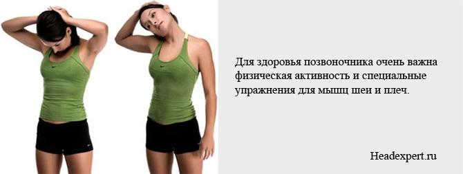 Упражнения для мышц шеи и плеч помогут улучшить мозговое кровообращение