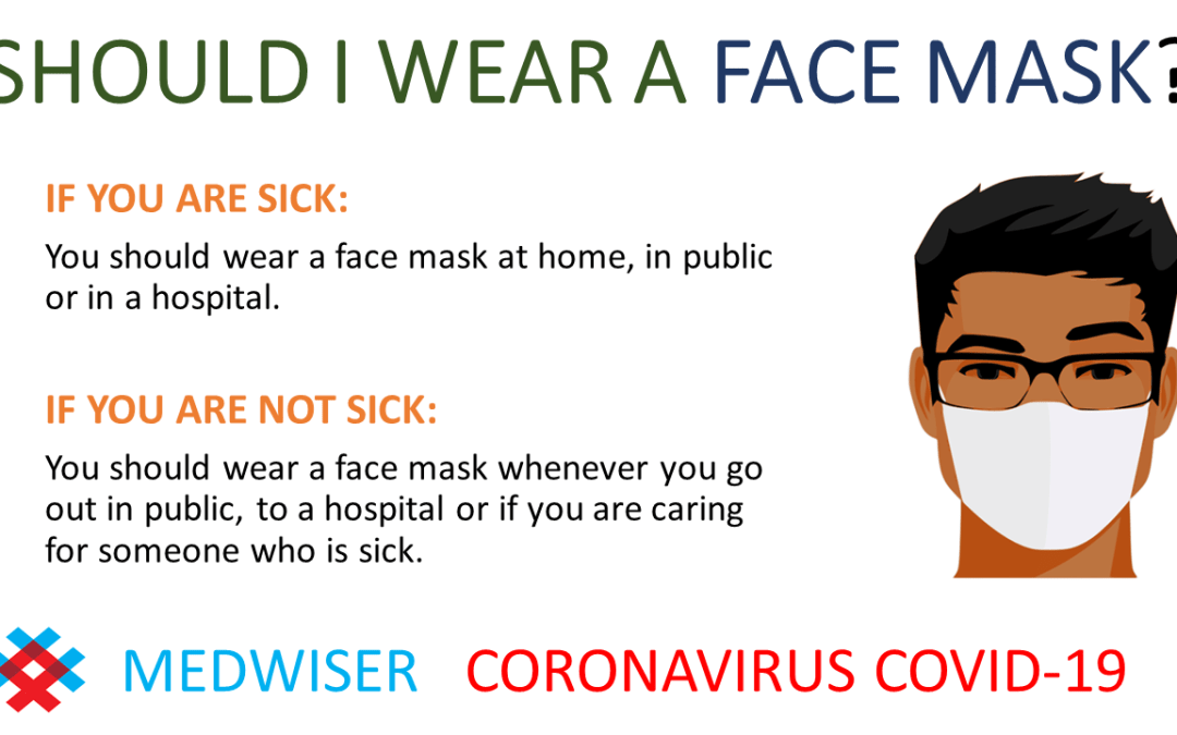 WEAR A MASK WHEN SICK OR IN PUBLIC POSTER