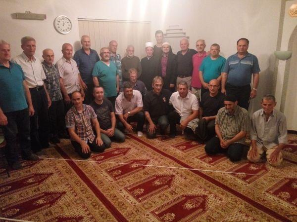 Ramazanska posjeta izaslanika muftije Mevludija ef. Arslanija u sklopu omladinskog iftara
