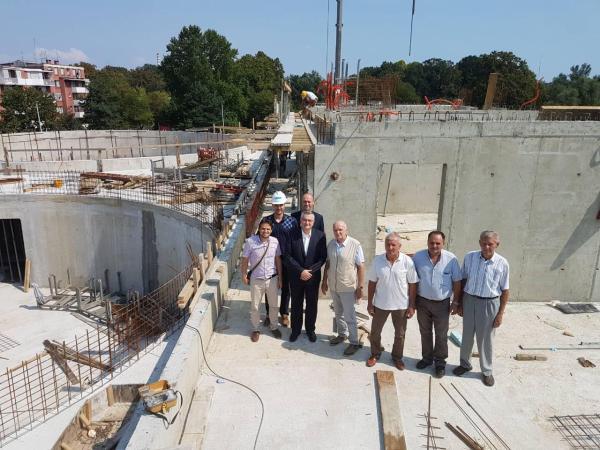 Muftija posjetio gradilište IKC Sisak