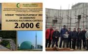 Delegacija džemata Tržačka Platnica, MIZ Cazin posjetila gradilište IKC-a i uručila donaciju