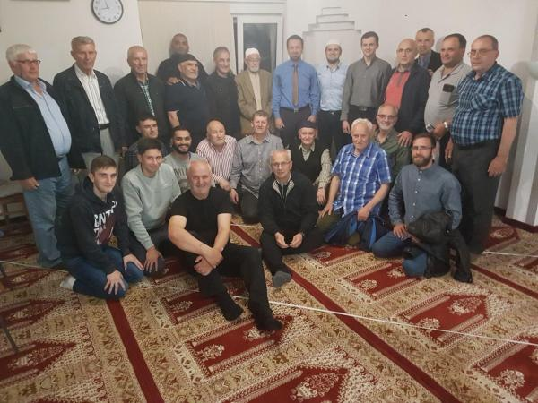 Izaslanik muftije mr.Mirza ef. Mešić posjetio MIZ Sisak