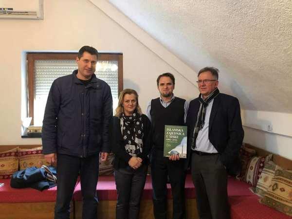 Posjeta gradilištu IKC-a i MIZ Sisak saborske zastupnice i člana Savjeta za nac.manjine