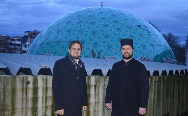Paroh sisački Veselin Ristić posjetio gradilište IKC Sisak