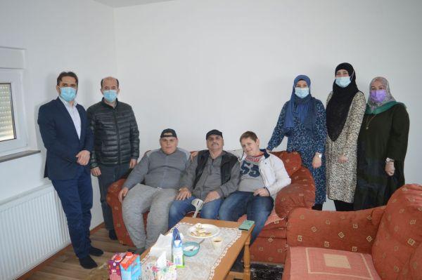 Porodica Dedić useljena u novu kuću