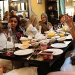 Group Enjoying Mezze