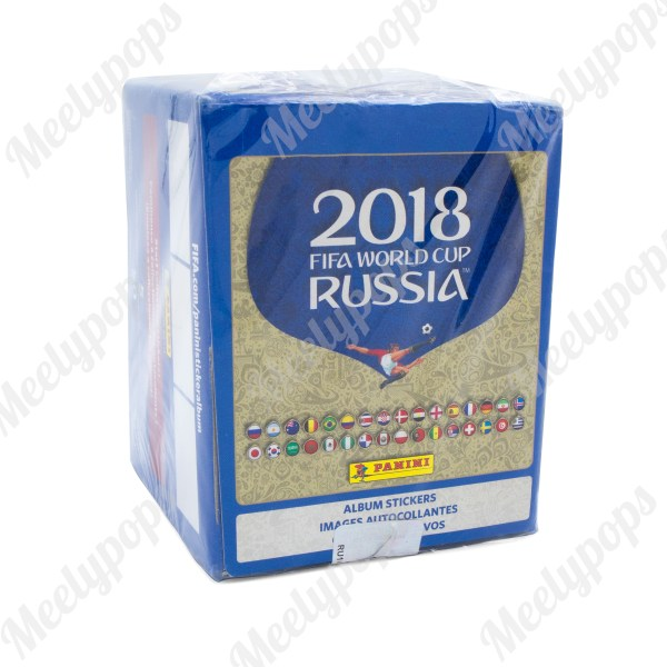 2018 Panini Fifa World Cup Soccer Sticker box