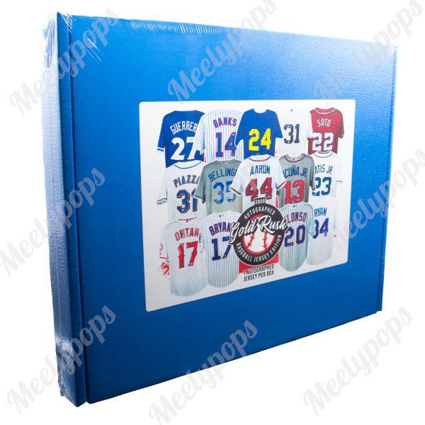 2020 Autographed baseball jersey box