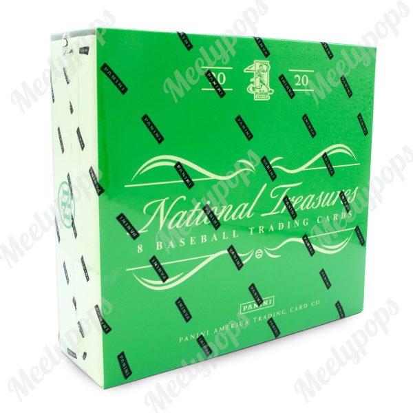 2020 Panini National Treasure baseball box