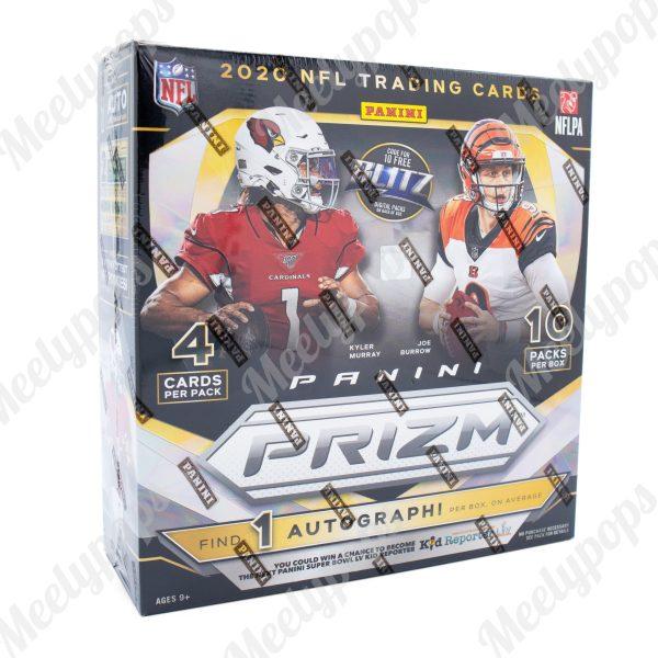 2020 Panini Prizm Football Retail Mega Box (Walmart)