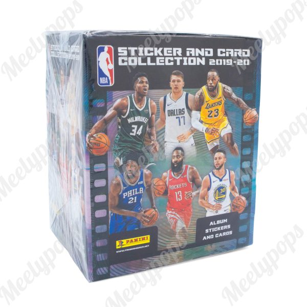 2019-20 Panini NBA Basketball Sticker Collection box