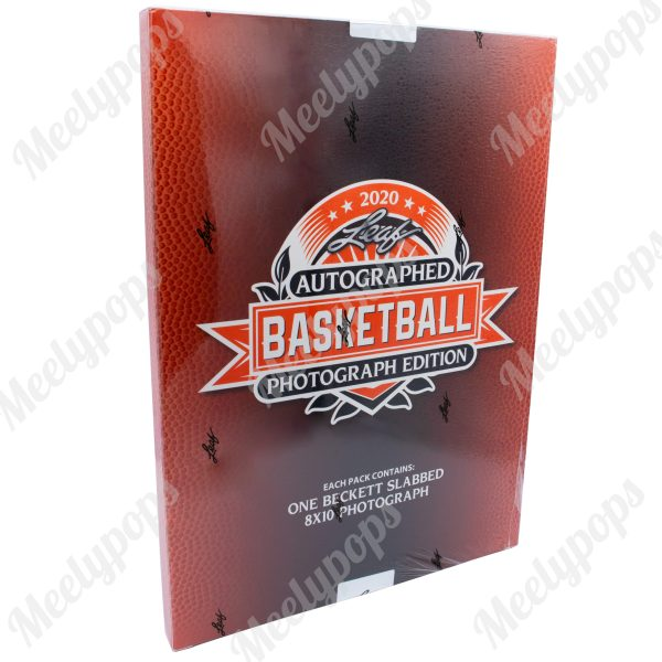 2020 Leaf Autographed Basketball 8x10 Slabbed Photograph Edition