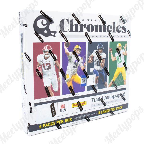 2020 Panini Chronicles Draft Collegiate Football box