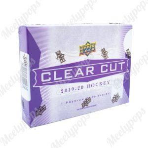2019-20 Upper Deck Clear Cut Hockey Box