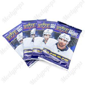 2020-21 Upper Deck Series 2 Hockey 4 pack lot