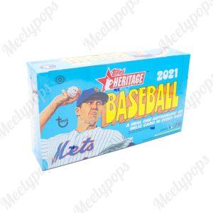 2021 Topps Heritage baseball box
