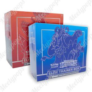 Pokemon Sword and Shield Battle Styles Elite Trainer box