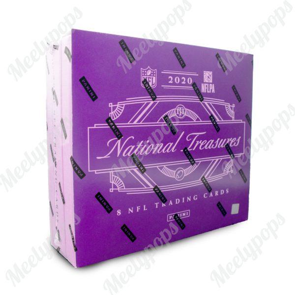 2020 Panini National Treasures Football Box