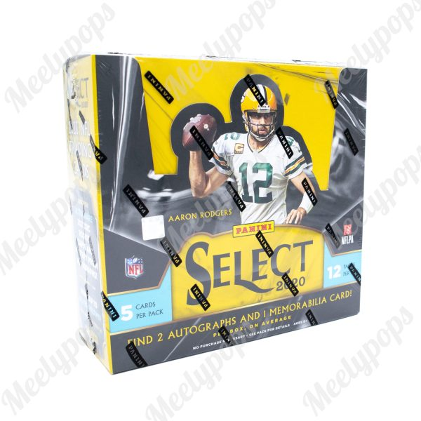 2020 Panini Select Football box