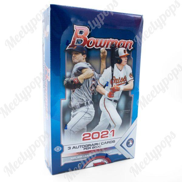 2021 Bowman Baseball jumbo box