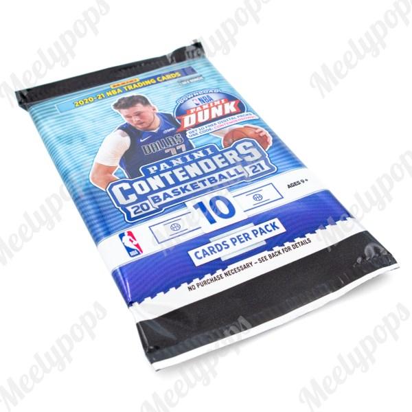 2020-21 Panini Contenders Basketball pack