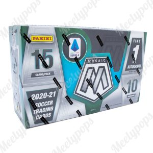 2020-21 Panini Mosaic Series A Soccer Box