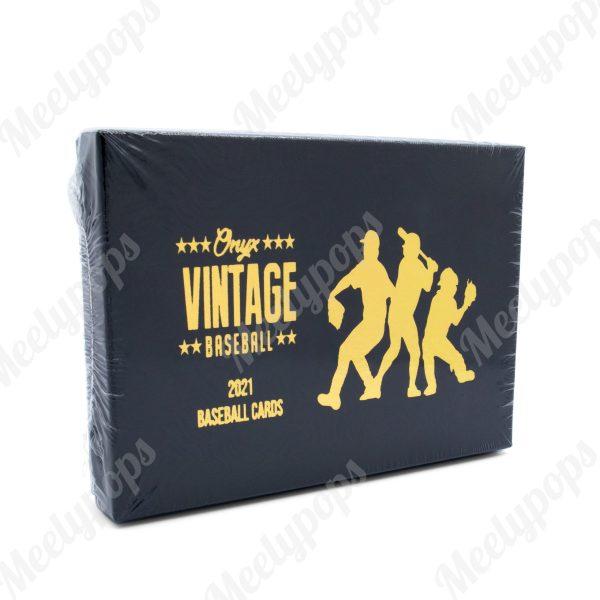 2021 Onyx Vintage baseball box