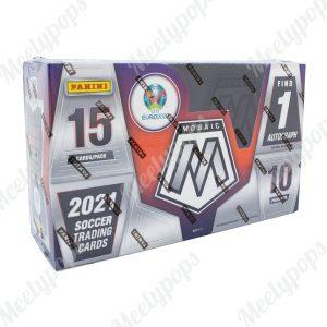 2020-21 Panini Mosaic UEFA Euro Soccer Box