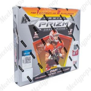 2021 Panini Prizm Collegiate Draft Picks H2 Football box