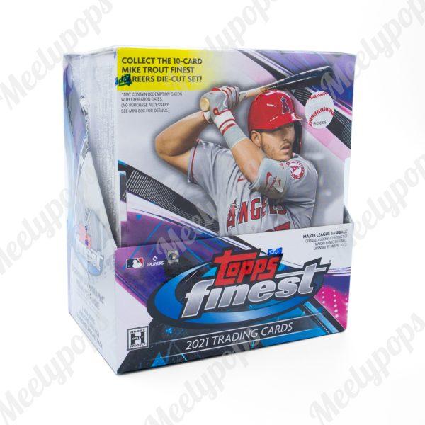 2021 Topps Finest Baseball Box