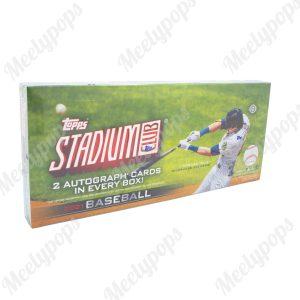 2021 Topps Stadium Club baseball box