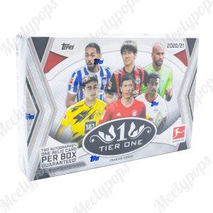 2021 Topps Tier One Bundesliga Soccer box