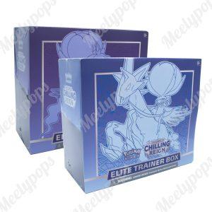Pokemon Sword and Shield Chilling Reign Elite Trainer Box