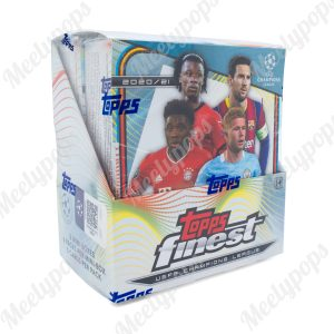 2020-21 Topps Finest UEFA Champions League Soccer Box