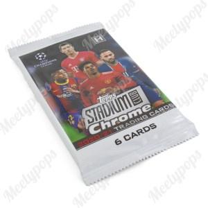 2020-21 Topps UEFA Champions League Stadium Club Chrome Soccer pack