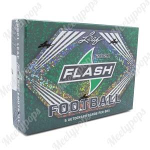 2021 Leaf Flash Football box