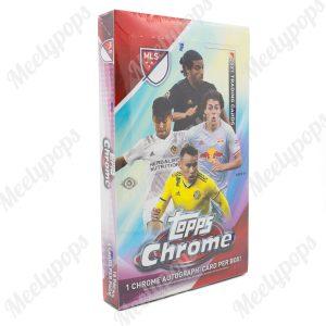 2021 Topps Chrome MLS Soccer Box
