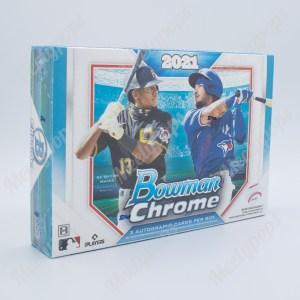 2021 Bowman Chrome Baseball HTA box