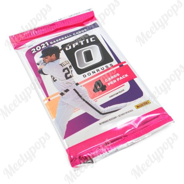 2021 Panini Donruss Optic Baseball pack