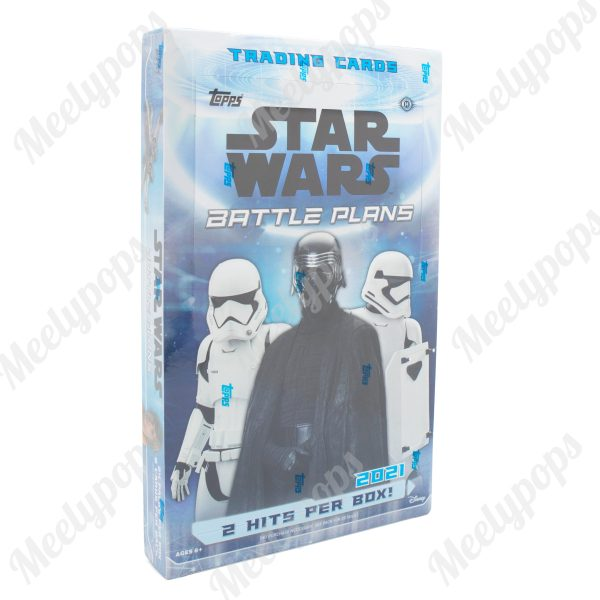 2021 Topps Star Wars Battle Plans Box